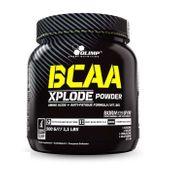 BCAA Xplode powder, pineapple/ananas, 500g + losowo wybrana próbka