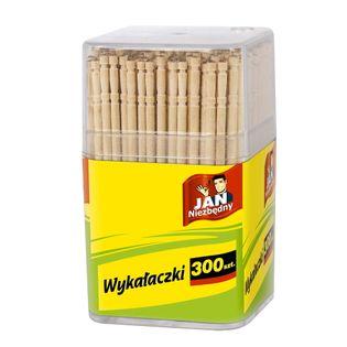 Jan Niezbędny  Wykałaczki  Dewniane ( W Pudełku) - 300 Sztuk
