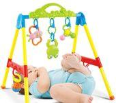 Stojaczek stojak dla dzieci gimnastyczny edukacyjny z grzechotkami Y85 zdjęcie 4