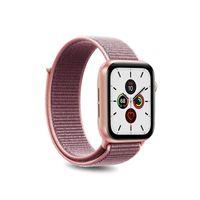 PURO Nylon - Pasek do Apple Watch 38 / 40 mm (Różowy)