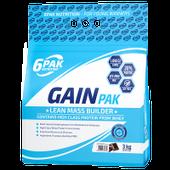 6PAK Nutrition Gain Pak - 3000g Smak - Truskawka