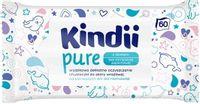 CLEANIC Kindii Pure Sensitive 60szt - chusteczki pielegnacyjne dla niemowlat