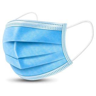 Maseczka jednorazowa ochronna FFP1 50 sztuk niebieska
