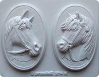 Forma do odlewów - Odlewy gipsowe - Obrazki konie (2714016)