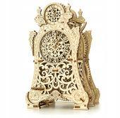 MAGICZNY ZEGAR Mechaniczne Puzzle 3D Drewniane Wooden City