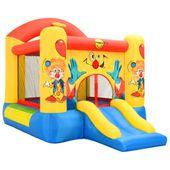 Dmuchany zamek ze zjeżdżalnią, Happy Hop, 330x230x230 cm, PVC