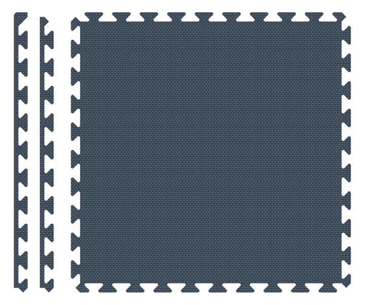 PUZZLE PIANKOWE MATA 4szt 62x62x1,1 cm Granatowy na Arena.pl