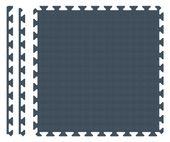 PUZZLE PIANKOWE MATA 4szt 62x62x1,1 cm Granatowy zdjęcie 4