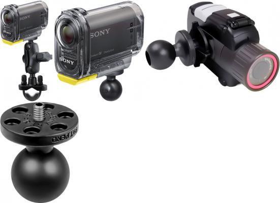 Ram Mounts Uchwyt do kamer Sony Action Cam & Sony Action Cam z Wi-Fi® montowany do ramy kierownicy zdjęcie 1