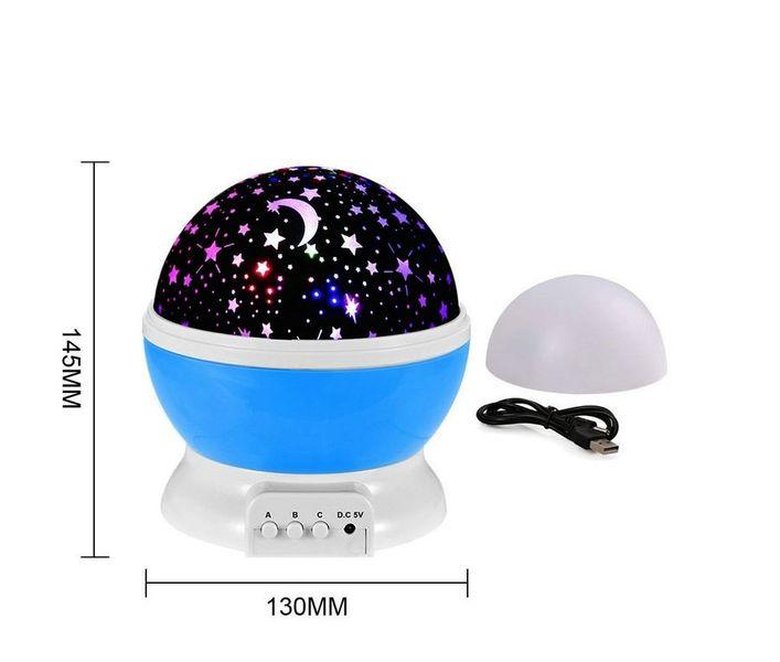 Lampka nocna dziecięca projektor gwiazd nieba obrotowa Y67 zdjęcie 6