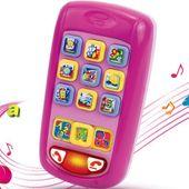 Dumel Discovery Rymujący Smartfonik Pink 42038