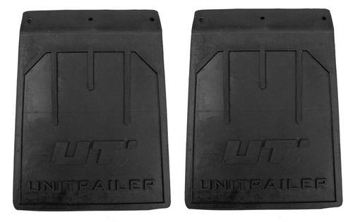 Zestaw: Dwa chlapacze gumowe odgięte małe Unitrailer