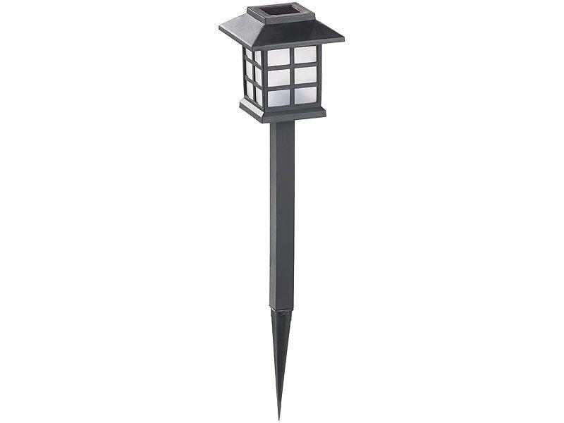 """Lampy ogrodowe solarne 6 sztuk Lunartec """"Asian"""" zdjęcie 6"""