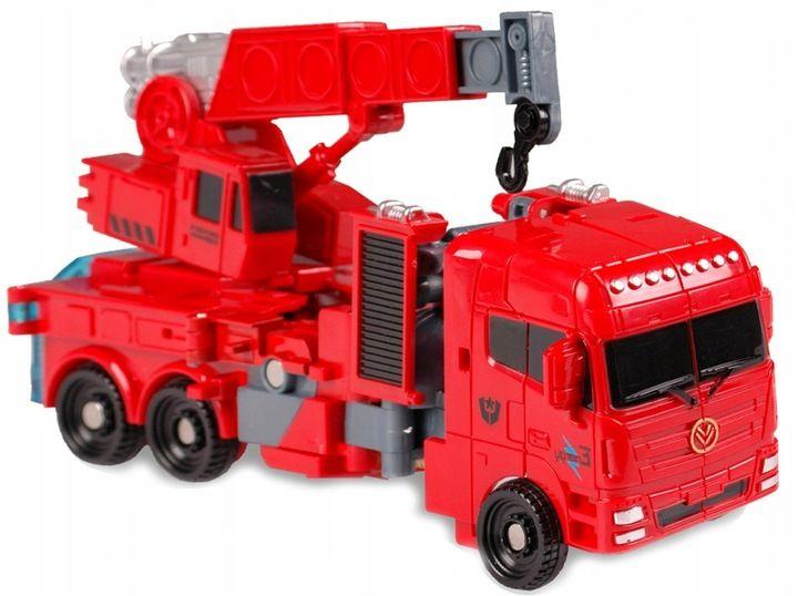 TRANSFORMER Robot DŹWIG Auto 2w1 ARTYK zdjęcie 2