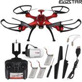 Dron EVOSTAR Explorer RQ77-14W Kamera WiFi 6Axis 3Aku okulary 3D Z25G