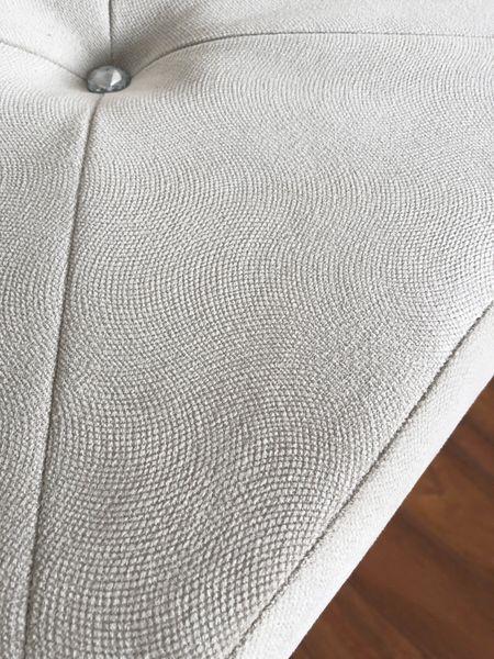 Pufa tapicerowana pikowana GLAMOUR beż zdjęcie 8