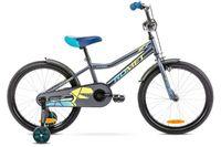 Rower 20 ROMET TOM antracytowo-żółty
