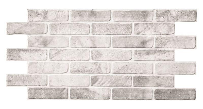 Dekoracyjne Panele ścienne Pcv 3d Old Brick Grey Slate Plastikowe