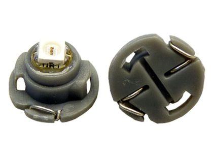 żarówka LED SMD do przycisków nawiewów pokręteł 12v T5 12mm KOLORY