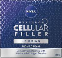 Nivea Hyaluron Cellular Filler + Widoczne Ujędrnienie Przeciwzmarszczkowy Krem Na Noc 50Ml