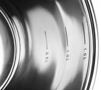 Zestaw Garnków Elegance Grey 12 El. Zilner Zl-8114 Marble
