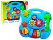 Interaktywny panel edukacyjny dla maluszka zabawka