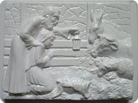 Forma do odlewów - Odlewy gipsowe - Szopka bożonarodzeniowa (2722071)