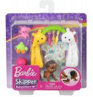 Barbie lalka dziecko Raczkowanie