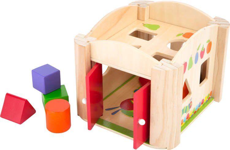 Sorter drewniany dla dzieci - Głodna gąsienica zdjęcie 1