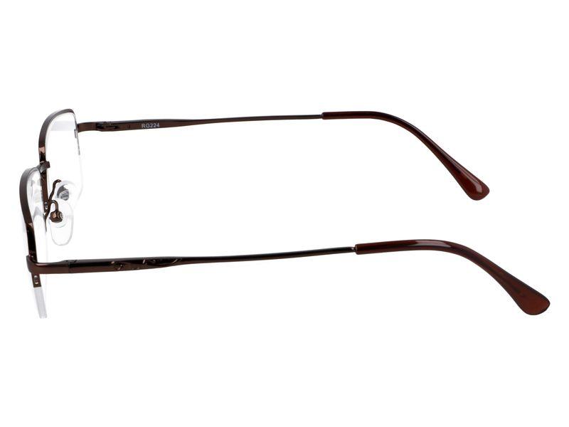 Prostokątne okulary do czytania plusy +1.00 zdjęcie 5
