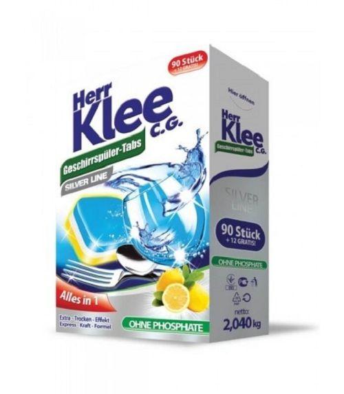 Tabletki do zmywarki Herr Klee C.G. Silver Line 102 sztuki na Arena.pl