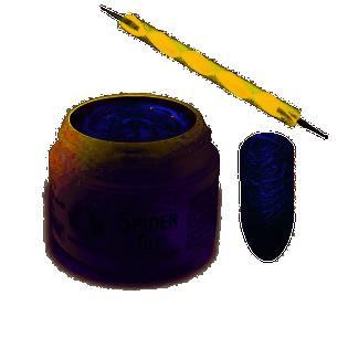 Żel do zdobień Spider Gel Cameleon Blue 3ml + biała sonda gratis