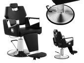 Fotel fryzjerski - czarny Physa Turin Black
