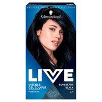 Live Intense Gel Colour koloryzacja do włosów w żelu 1.4 Blueberry Black
