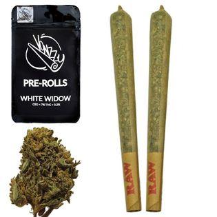 Joint CBD, Skręt White Widow 7% 2szt. 1g Vonzzy
