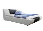 Łóżko tapicerowane ANETA 160x200 cm stelaż pojemnik