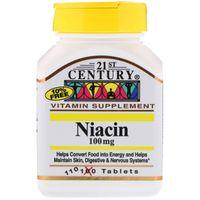 21st Century Niacyna Wit B3 100 mg 110 tabletek