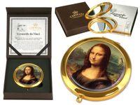 Lusterko okrągłe 7 cm Da Vinci Gioconda CARMANI