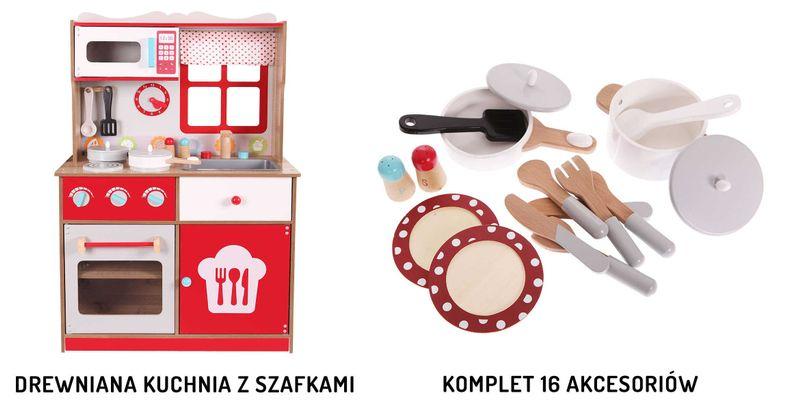 Kuchnia Drewniana Dla Dzieci Ecotoys Z Wyposazeniem Arena Pl