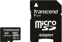 Karta Pamięci Transcend Microsdhc 8 Gb Adapter Sd/sdhc