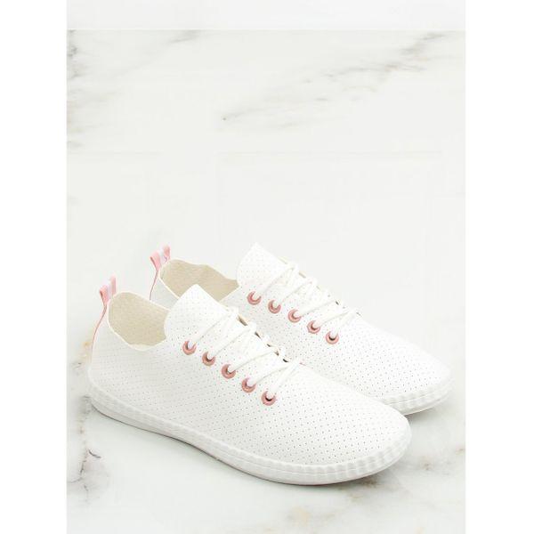 Trampki damskie biało różowe BO 1 Pink r.37