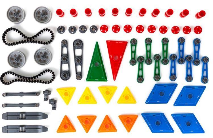 Edukacyjne klocki magnetyczne MAGICAL MAGNET no.7212A 162 elementy Y43 na Arena.pl