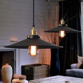 Lampa wisząca LOFT XGX7025 czarna