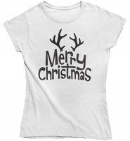 Koszulka damska Merry Christmas prezent na święta
