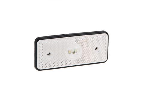 Lampa LED obrysowa biała 12V-36V 013BLED
