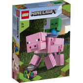 LEGO 21157 MINECRAFT BIGFIG - ŚWINKA I MAŁY ZOMBIE