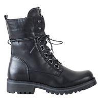Wysokie Czarne Workery r.39