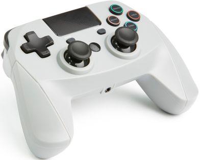 Gamepad snakebyte bezprzewodowy czarny 4 S WIRELESS szary (PS4 )