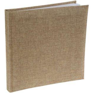 """Księga Gości """"Jutowa"""", brązowy, SANTEX, 24 x 24 cm, 20 kartek"""