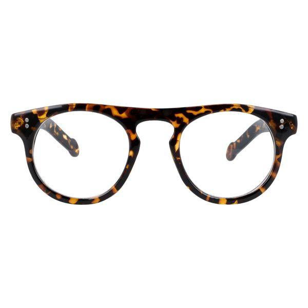 Owalne okulary zerówki vintage zdjęcie 4